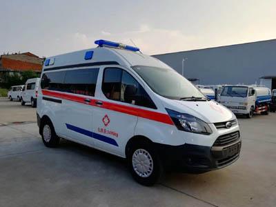 福田牌BJ5048XJH-V1型救护车