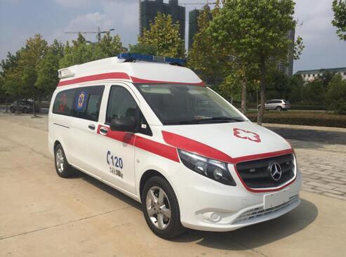 福田牌BJ5039XJH-V1型救护车