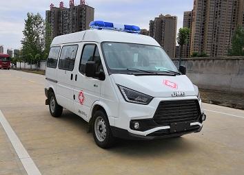 福田牌BJ5036XJH-V2型救护车