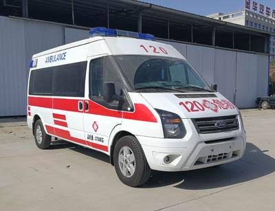福田牌BJ5038XJH-V2型救护车